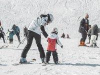 Clases de esquí para niños
