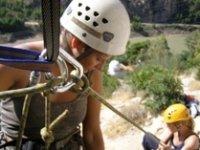 Corso di arrampicata - primo giorno