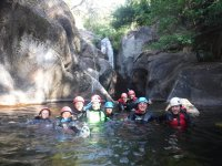 Canyoning with friends