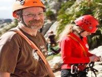 Corso di iniziazione all'arrampicata su roccia