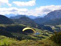 Sobrevolando las montanas