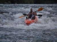 The Sil in kayak