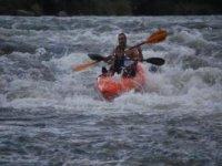 El Sil en kayak