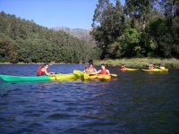 Kayaking in the Tambre