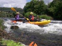 Kayaking on the Ulla River