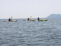 Kayaking on the Galicia estuaries