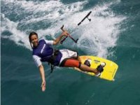 Kitesurf in Galician waters