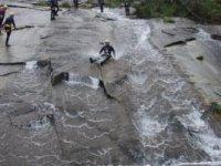 Initiation ravine in Pedras