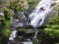 Impresionantes barrancos en Río Ribeiriño