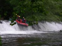 Exciting rafting adventure in the Deza