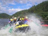 Rafting en el Sil