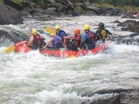 Rafting en el Tambre