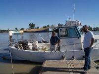 Excursion en barco por las marismas