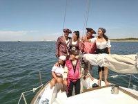 Fiesta pirata en la costa andaluza