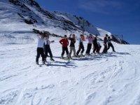 学习滑雪组