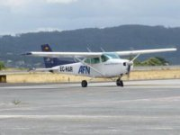 The Adventure aircraft in Galicia