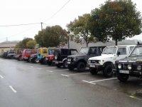 Todoterrenos aparcados