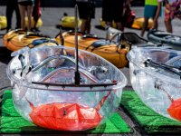 Kayaks transparentes