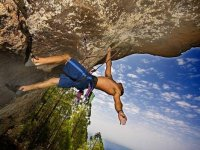 Eagerness to overcome climbing