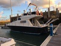 Barco en el puerto de Chiclana