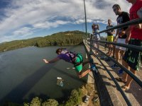 Bungee jumping in Noia
