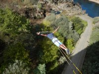 Jumping from the Puente de Arbo