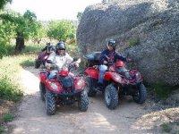 Divertidos quads por Serra do Barbanza