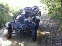 Routes in these fun buggies