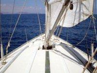 Proa del velero