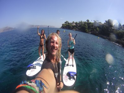 Mallorca kiteboarding & SUP Paddle Surf