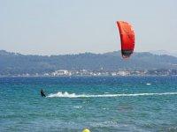 Navegango con el kite