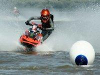 Moto nautica en competicion