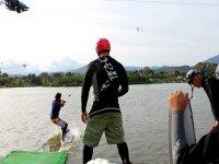Aprendiendo wake en San Rafael