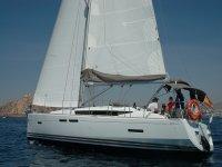 Boat through Cabo de Gata