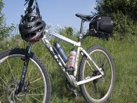 Fin de semana sobre la bicicleta