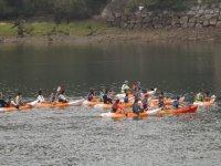 Grupo durante la sesion de navegacion