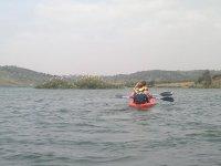 en el kayak