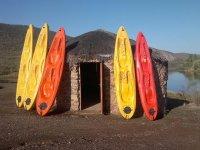 excursion con los kayak