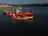 Paseo en kayak por la ria de Aorosa