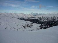 滑雪板的巨大滑雪坡道