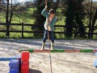 Juego para desarrollar el equilibrio