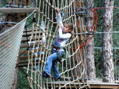 Treetop circuit for Kids, El Corredor