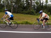 dia con la bici