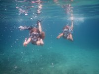 Snorkel with kids