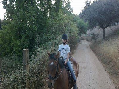 Horse Riding Tour in Cazalla de la Sierra 2h