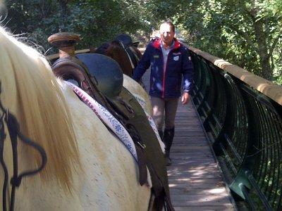 2 h. de ruta a caballo en Cazalla de la Sierra