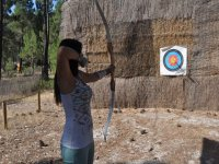 Archery with pinocio