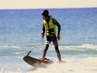 Alumno de jetsurf en Malaga