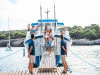 Imbarco a Minorca