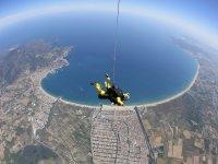 La costa desde el paracaídas